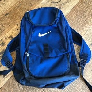 Nike back pack blue and black. Unisex.